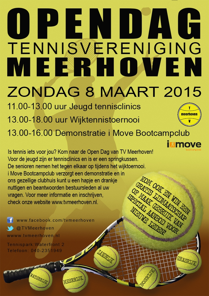 150308 Flyer open dag TV Meerhoven 2015