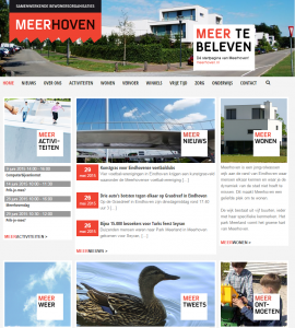 Meerhoven-website