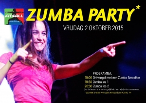 Zumba Party 2 okt 2015