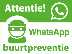 Buurtpreventie-WhatsApp
