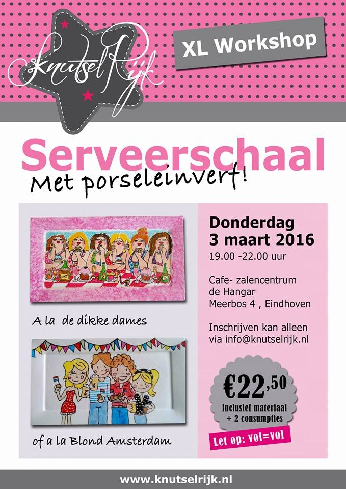 Knutselrijk-Serveerschaal-