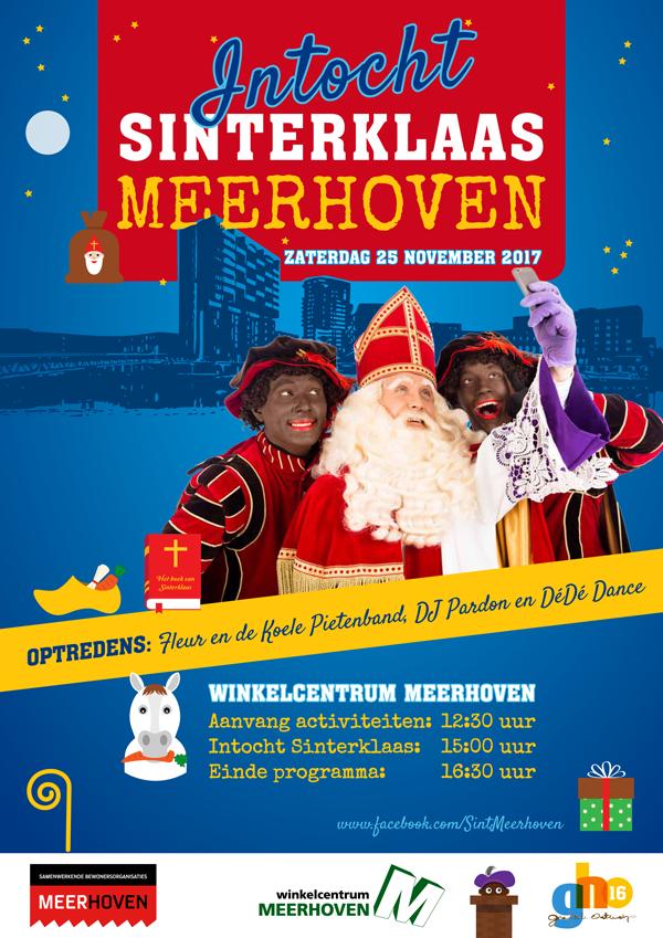 Intocht Sinterklaas Meerhoven En Opening Sinterklaashuis Meerhoven